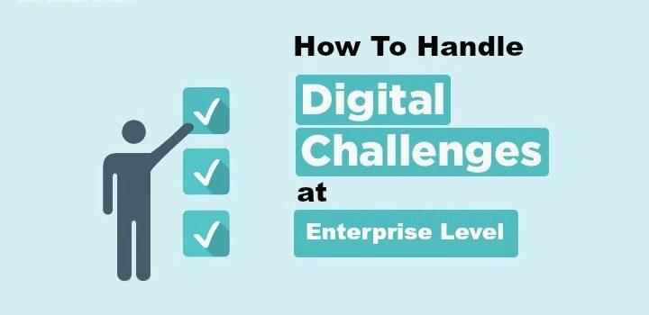 handle digital challenges at enterprise level