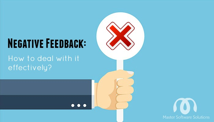 deal negative feedback