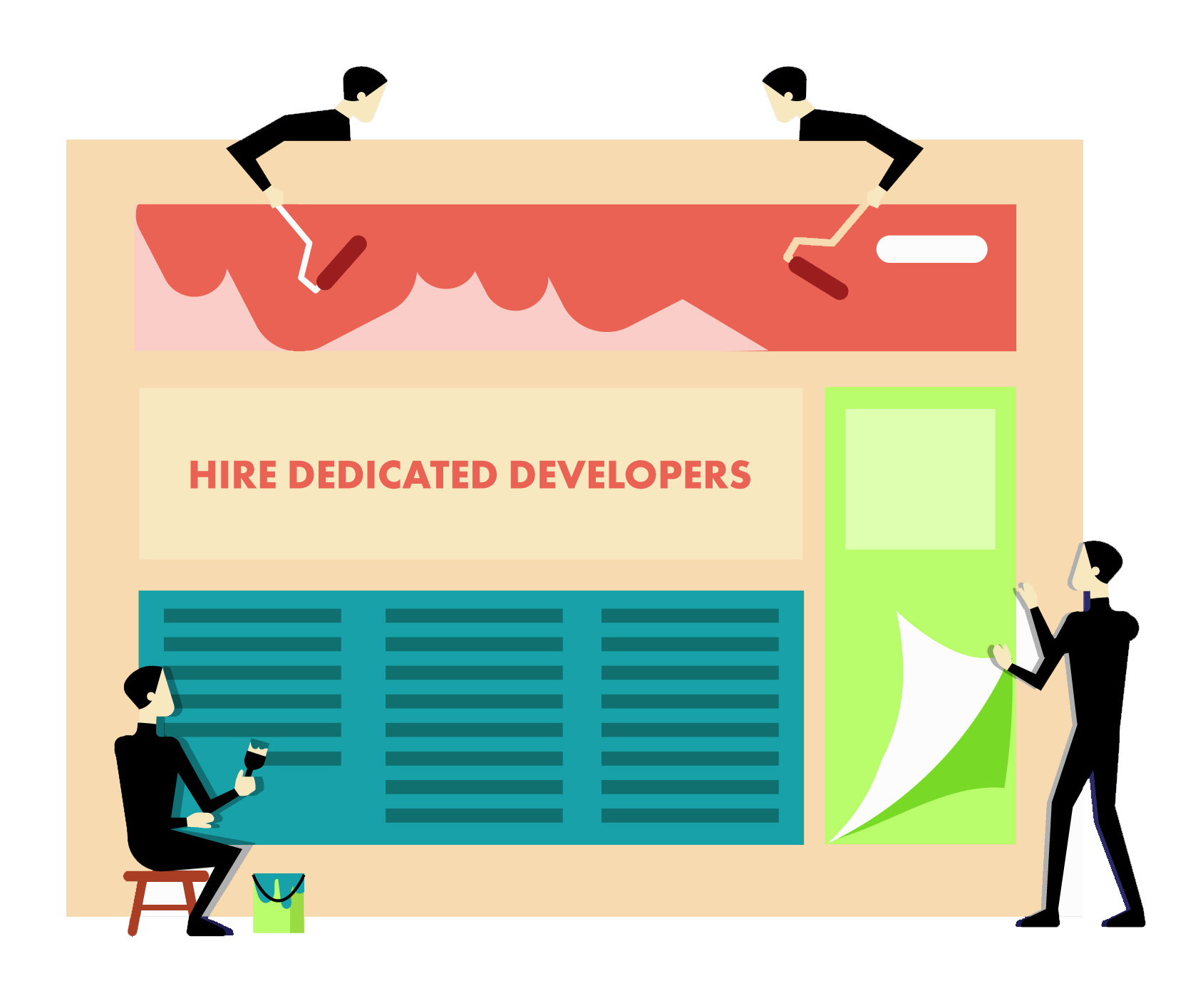 Hire Developers Banner