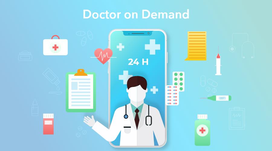 Develop On-Demand Medical Apps for Doctors