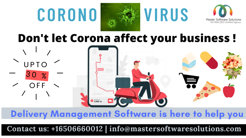 Coronavirus Scare the Delivery Businesses- How Delivery Management Software Can Help You