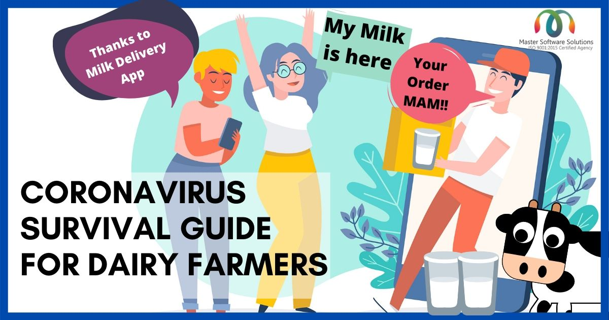 Coronavirus Survival Guide For Dairy Farmers - Master Software Solutions