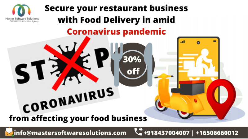 Food Delivery App - Coronavirus Outbreak