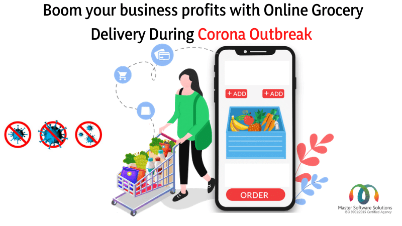 Online Grocery Delivery App Development Solutions-Master Software Solutions