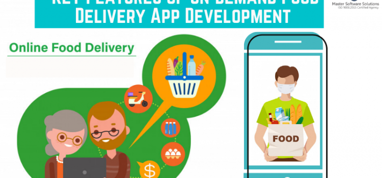 On-demand Food Delivery App Development Key Features - Master Software Solutions