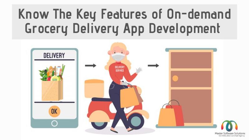 On Demand grocery app development
